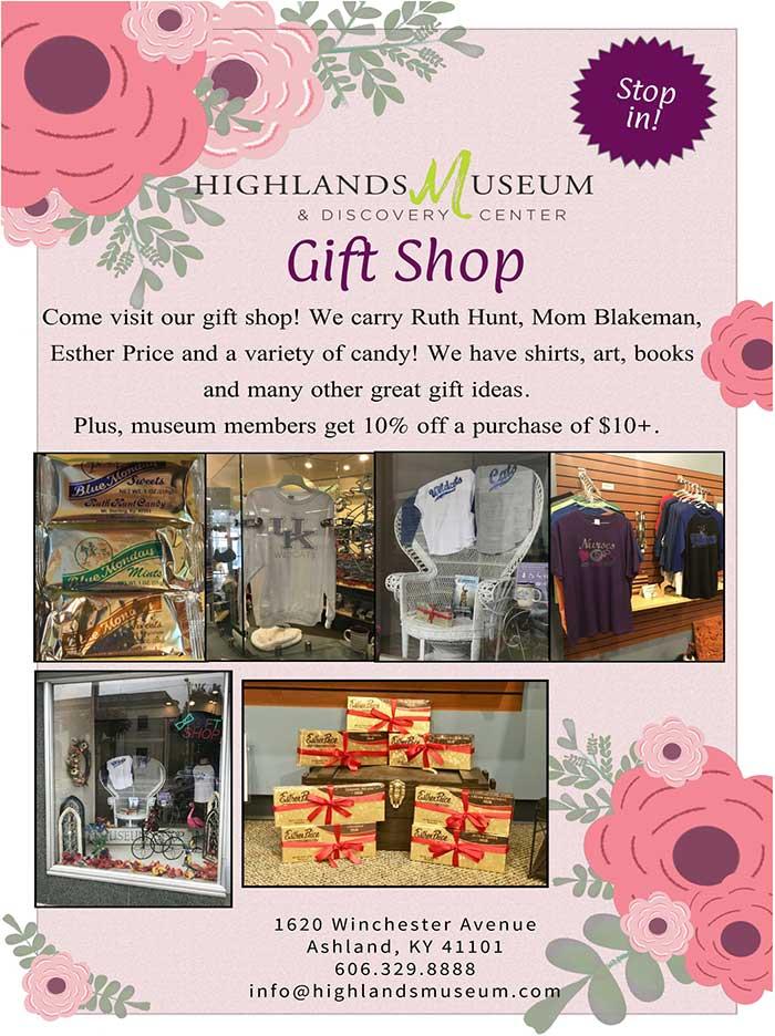 Highlands Museum Gift Shop