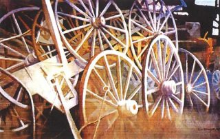 A Wheel Within (32x42) - $2,500